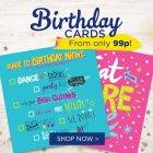Card Factory vouchers