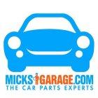 MicksGarage vouchers