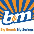 B&M Retail vouchers