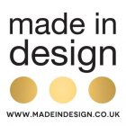 Made in Design vouchers
