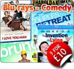 Pre-Owned Blu-Rays 3 for £10 @ The Game Collection