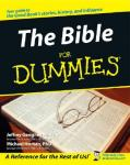 The Bible, for dummies @ Amazon only 8.86 down from 15.50