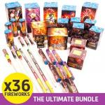 The Ultimate Fireworks Bundle with 36 Fireworks £35.99+4.99p&p @ Dealtastic