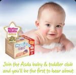 FREE Huggies Newborn Starter Kit  - Register at asda baby club