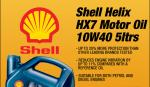 Shell 10w40 Oil 5 ltrs- Lowest Ever Price £16.99 @ Eurocarparts