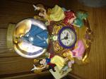 Disney Princess Snow Globe with Clock (boxed)