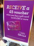 Buy a £30 gift card and get £5 voucher - instore only @ Dorothy Perkins