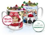 Personalised Mugs for £1.99 P&P @ Snapfish