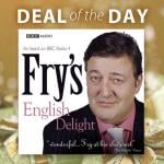 Fry's English Delight - £1.69 download, £6.62 CD (& other reduced audiobooks) @ AudioGo