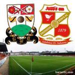 Barnet FC V Swindon Johnstone's Paint Trophy Semi Final £10/£5