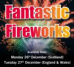 Weco Fireworks @ Lidl from 26th/ 27th December