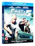 Fast & Furious Five Triple Play Blu-ray - £6 instore at Blockbuster