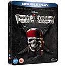 Pirates of the Caribbean 4: On Stranger Tides Blu-Ray & DVD STEELBOOK £11.99 @ HMV