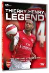 Arsenal - Thierry Henry Legend DVD @ Poundland