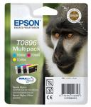 Genuine Epson TO896 Pack of Colour Cartridges  £13.79 @ Amazon