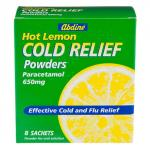 Lemon cold relief drink 8 sachets only £1 @Poundland