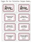 On a tight budget for valentines? A more thoughtful gift (maybe) and its free! Book of Love Coupons...x