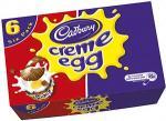 Cadbury Creme Egg - 6 pack £1.65 @ Tesco / £1.50 @ Morrisons / £1.52 @ Co-op