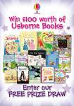 Win £100 worth of beautiful Usborne books @ Usborne