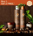 OJON buy 1 get 2 free full size products, shampoo & conditioner worth £41.50