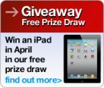Enter our free prize draw to win an iPad @ Choice Stationery