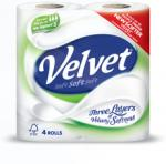 40 x Triple Velvet toilet rolls for £11.99 all in! Nationwide Makro deal