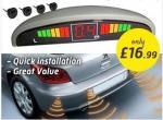 Car Parking Sensor with LED Digital Display & 4 Detectors (£16.99 at Dealtastic)