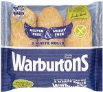 Warburtons gluten free & wheat free White / Brown rolls 3s was £1.99 now  £1.49 @ Waitrose