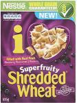 Nestle Shredded Wheat Superfruity Blue & Black Berries (525g) was £2.68 now 2 for £3.00 @ Asda