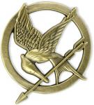The Hunger Games Mockingjay Pin Badge by 'My Swift'  £5.77 @ Amazon