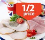 Lots of offers on Morrisons Deli - Half Price Wiltshire Ham 64p/100g! Stuffed Turkey Breast 59p/100g!