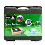 Portable Gas Picnic Camping Stove + Carry Case only £8.99 @ B&M (Also 4 Butane Gas Cartridges £3.99)