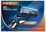 Free Gillette razor on your 18th birthday