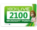 2x 2100 Microsoft Points For Sale