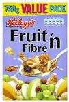 Kellogg's Fruit n Fibre 750g was £2.98 now £1.49 Limited to 3 per customer @ Morrisons