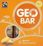 Geobar Raisin & Apricot Fair Trade Cereal Bars (6 x 32g) was £1.93 now £1.28 @ Sainsburys