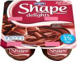 Shape Delights Velvety Chocolate Dessert (4 x 110g) was £1.58 now £1.00 @ Asda