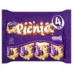 Cadbury's Picnic 4 pack (193gm) £1 Poundland