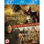 2 x 3D Films - Clash and Wrath of the Titans £17.99 @ Amazon