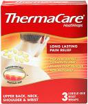 Thermacare Neck, Shoulder & Wrist Therapeutic Heat Wraps (3) was £6.13 now any 2 for 1 @ Sainsburys