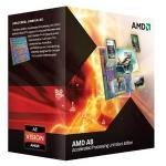 AMD A-Series A8 3870K Black Edition Quad-Core Processor (3.00 GHz, 4MB Cache, Socket FM1, 100W, Radeon HD6550D)  £79.40 Delivered @ Amazon