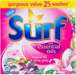 Surf Essential Oils Powder Tropical Flowers & Ylang Ylang - 25 Washes (2Kg) was £5.70 now £2.85 @ Tesco