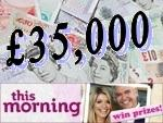 Win £35,000 and a 7 Night Menorca Holiday with This Morning / ITV
