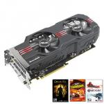 Asus HD 7950 TOP  3072MB GDDR5 PCI-Express Graphics Card - AMD 3 for FREE Promotion £239.99 @ Overclockers