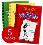 "(New) ""Diary Of A Wimpy Kid"" Collection - 5 Books (in Slipcase): £8.94 at TheBookPeople.co.uk"