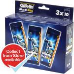 Gillette Blue II Plus Disposable Razors 3x10 Packs (30 Razors) ... £3.99 - Home Bargains