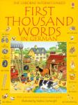 First Thousand Words in German 50p delivered with code @ The Book People