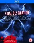 Final Destination Quadrilogy Blu Ray - £9.49 with code @ IWOOT