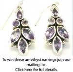 Win amethyst earrings @ Booth and Booth