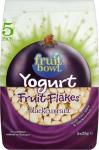 Fruit Bowl Fruit Yogurt Flakes Blackcurrant (5 x 25g) was £2.00 now £1.00 @ Sainsburys